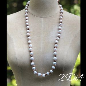 ✨LEATHER & PEARL✨ Necklace
